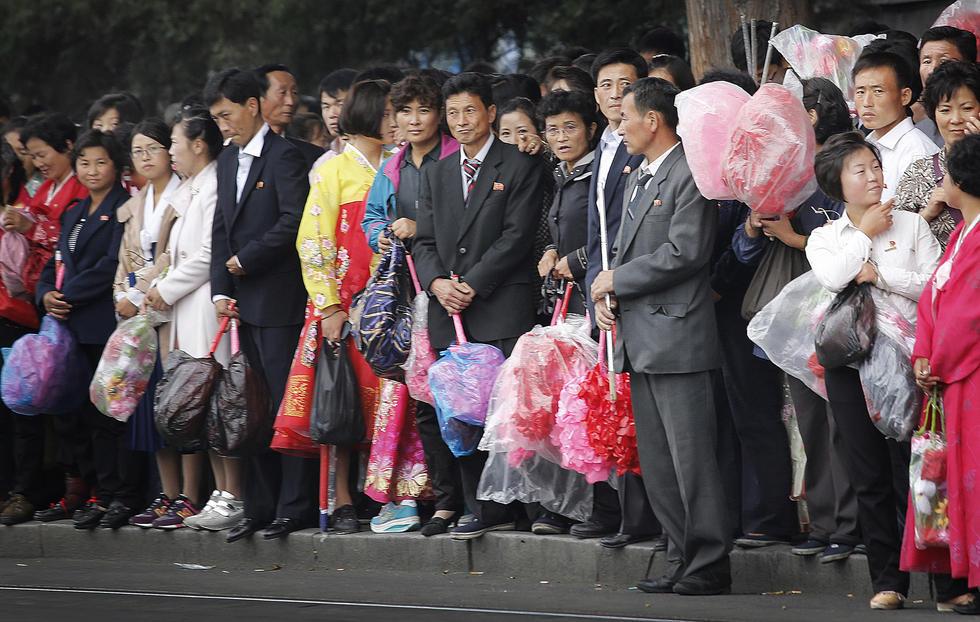 实拍朝鲜劳动党成立70周年前夕的平壤2015.10.9 - fpdlgswmx - fpdlgswmx的博客