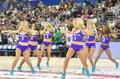 组图:NBA中国赛球迷日 黄蜂啦啦队激情热舞
