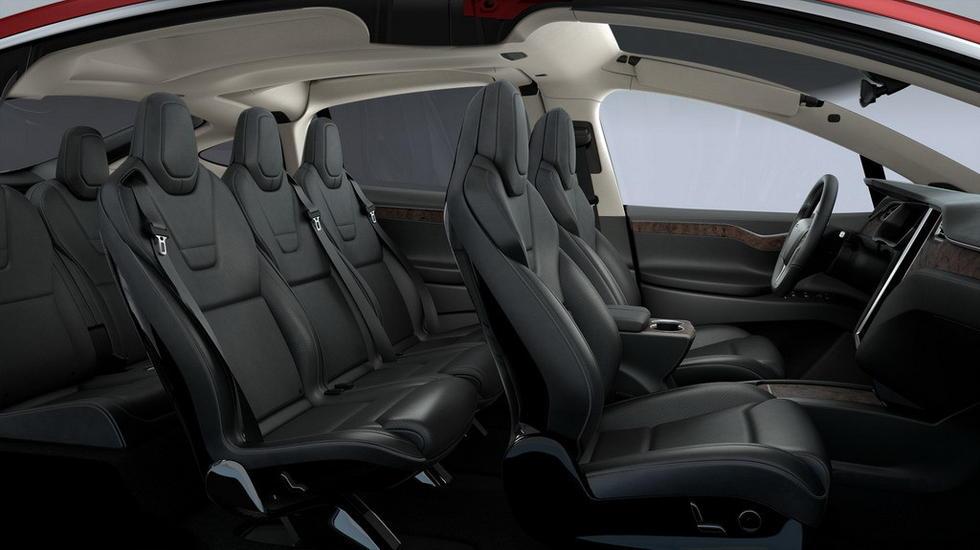 大CAR秀 特斯拉首款SUV MODEL X详解高清图片