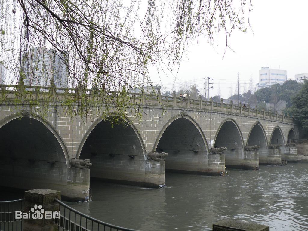 成都九眼桥桥震照片