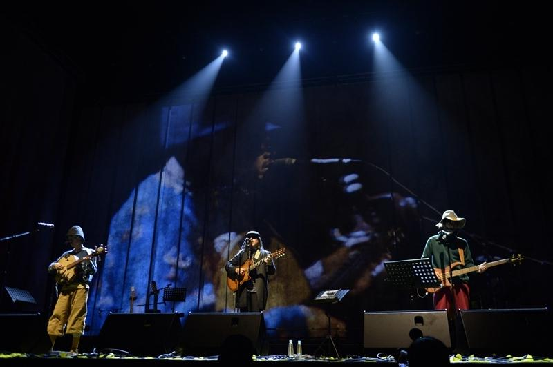 """""""黄河谣""""野孩子音乐会 20年我们在大地上只唱一生"""