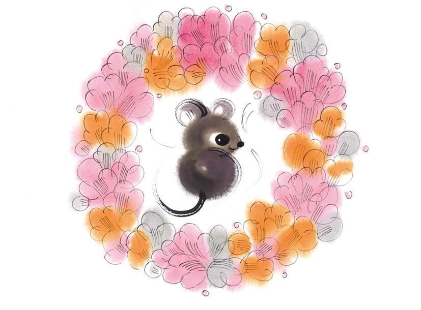 韩美林笔下憨态可掬的动物们图片