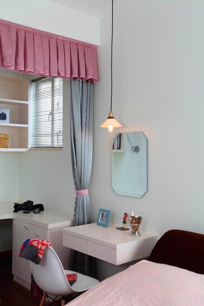 150平小清新3居阳光豪宅女白领装修90平现代简约 时尚女孩的美家