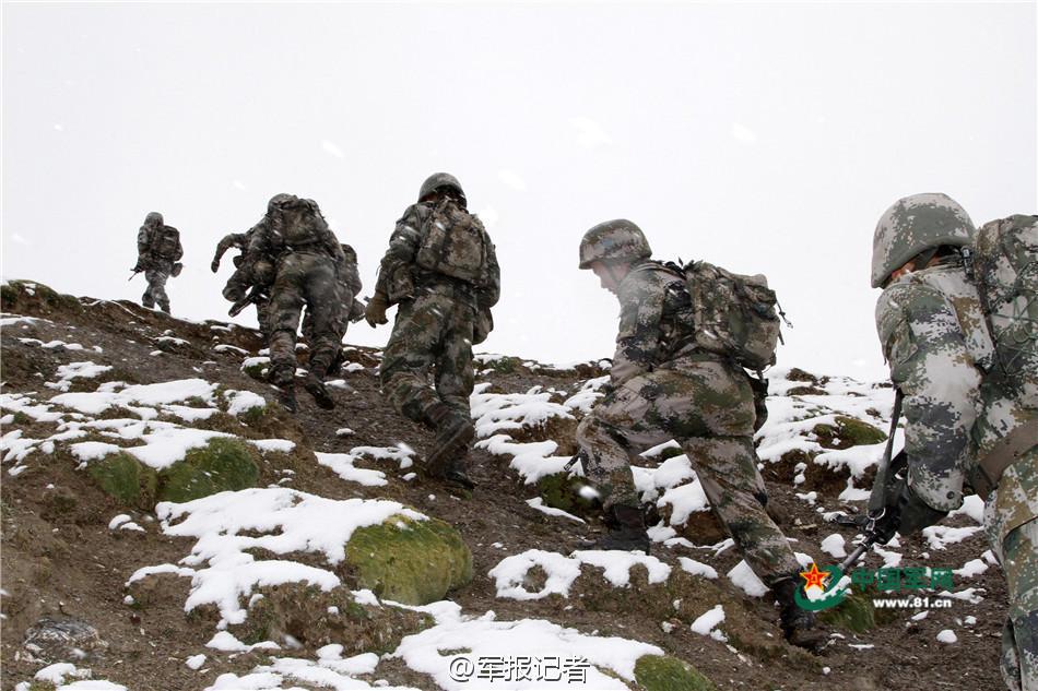 战士踏上风雪路 初雪和行军才最配2015.11.10 - fpdlgswmx - fpdlgswmx的博客