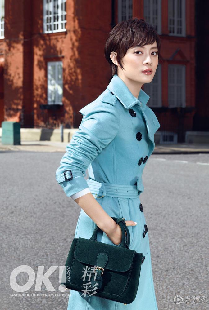 娱乐讯 日前,孙俪登上某时尚杂志封面.据悉,该组大片摄制于伦敦