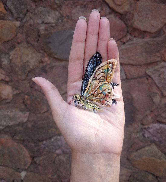 手掌上的3D世界 逼真到难以相信 - 天堂仙子 - 天堂仙子