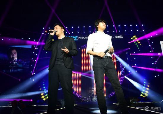 2015中国大学生音乐节 全国巡演成都站热辣上演