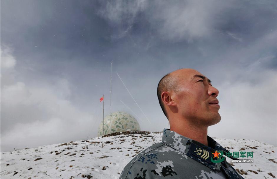 """英雄雷达站""""是世界上最高的人控雷达站,海拔5374米.王胜全,"""