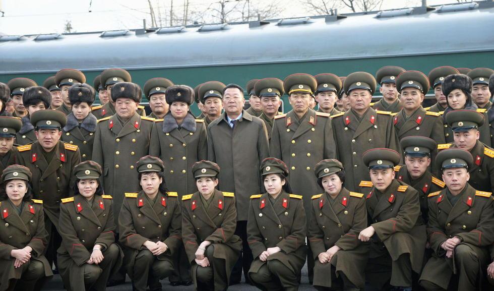 """组图:朝鲜""""牡丹峰""""乐团来华进行首次国外公演 - 海阔山遥 - ."""
