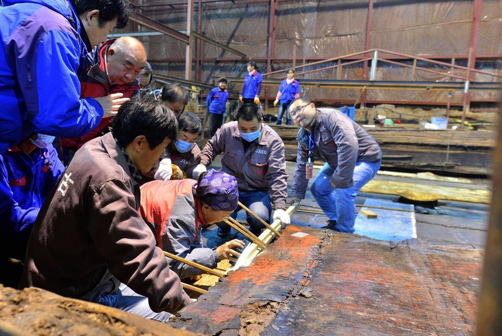 海昏侯主棺开启 10吨整体打包转入低氧实验室 - 海阔山遥 - .