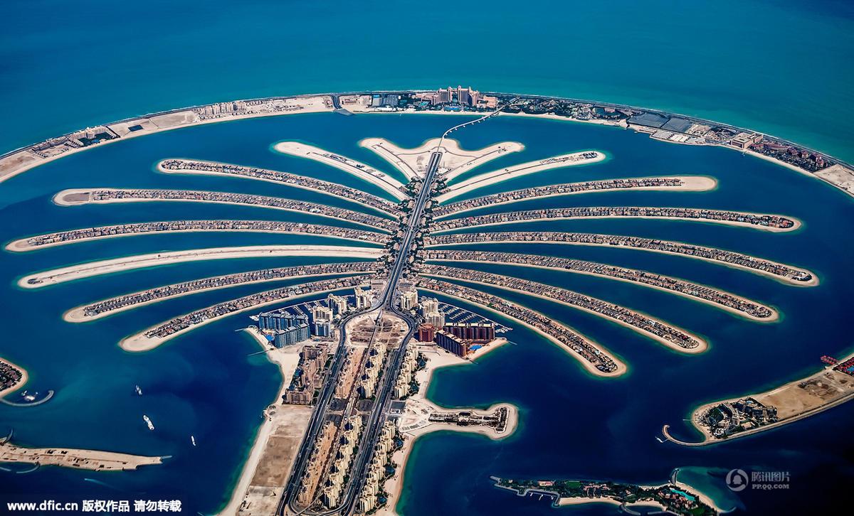 飞行员迪拜上空俯拍城市震撼美景 极尽奢华2015.12.19 - fpdlgswmx - fpdlgswmx的博客