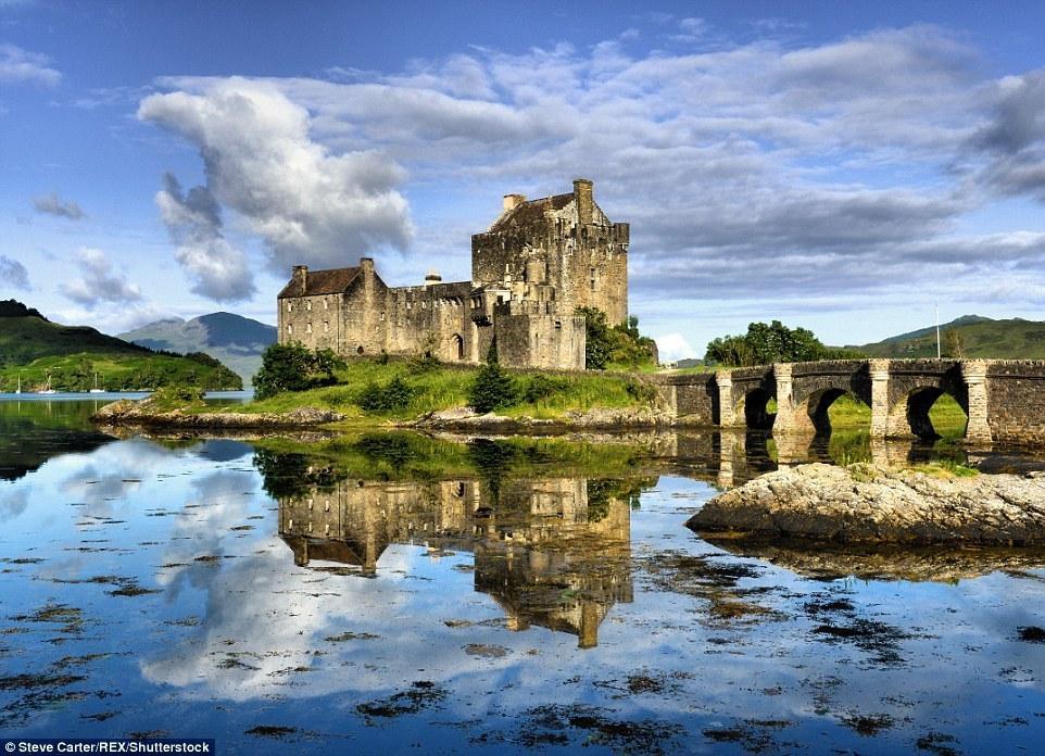 摄影师拍摄苏格兰 四季风光美如童话世界