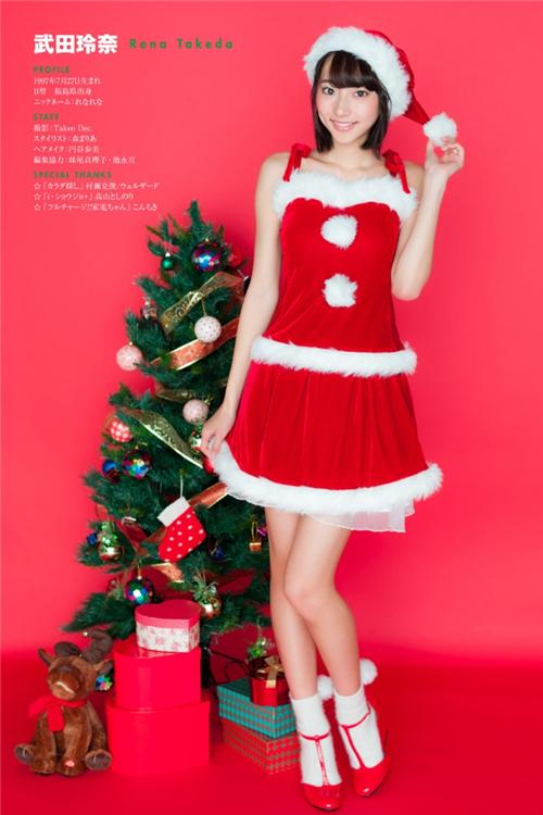 JUMP+圣诞特别企划 武田玲奈COS图集