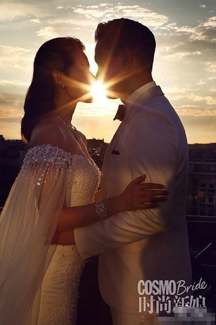 胡杏儿唯美婚照曝光 大婚在即自称紧张又兴奋