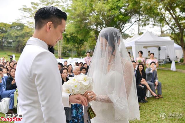 胡杏儿婚礼各种新欢旧爱同场