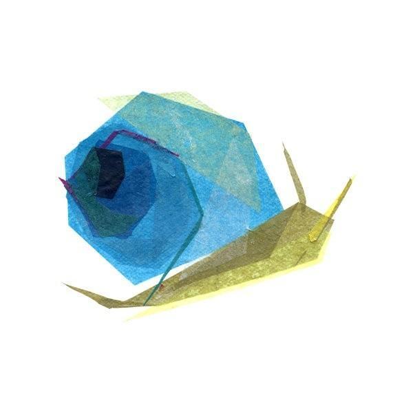 简约抽象的几何动物