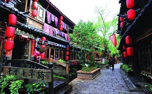 NO.1丽江,对逃离都市的人而言,这里是田园;对迷恋夜生活的人而