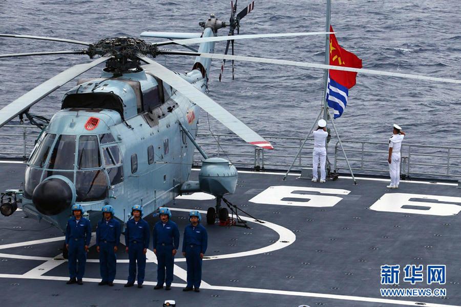 海军元旦不放假 071登陆舰战备巡逻南海2016.1.4 - fpdlgswmx - fpdlgswmx的博客
