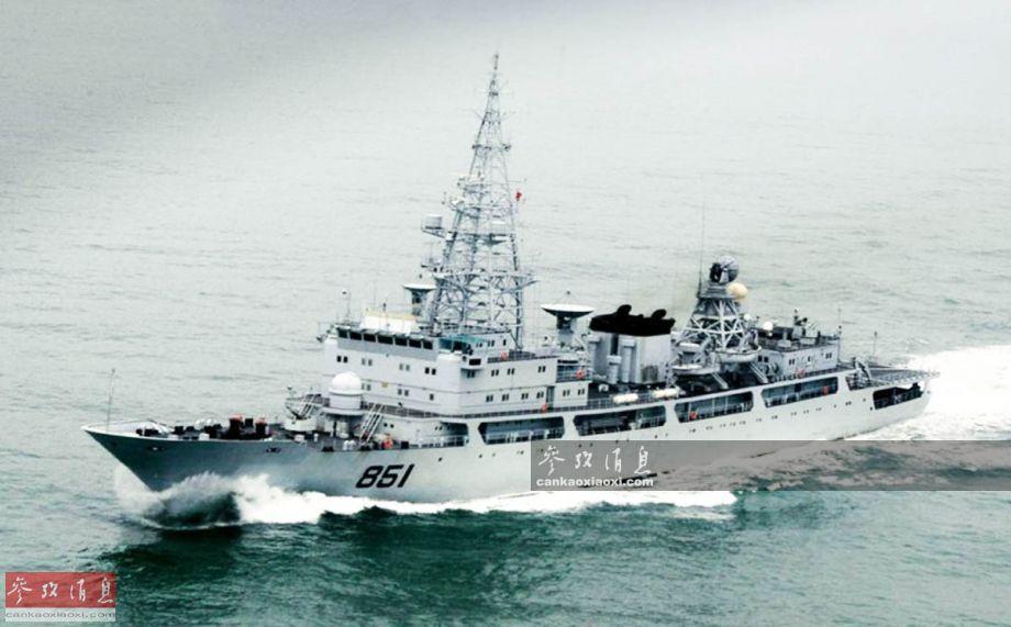组图:揭秘中国海军电侦船 多次抵近监视美海军 - 海阔山遥 - .