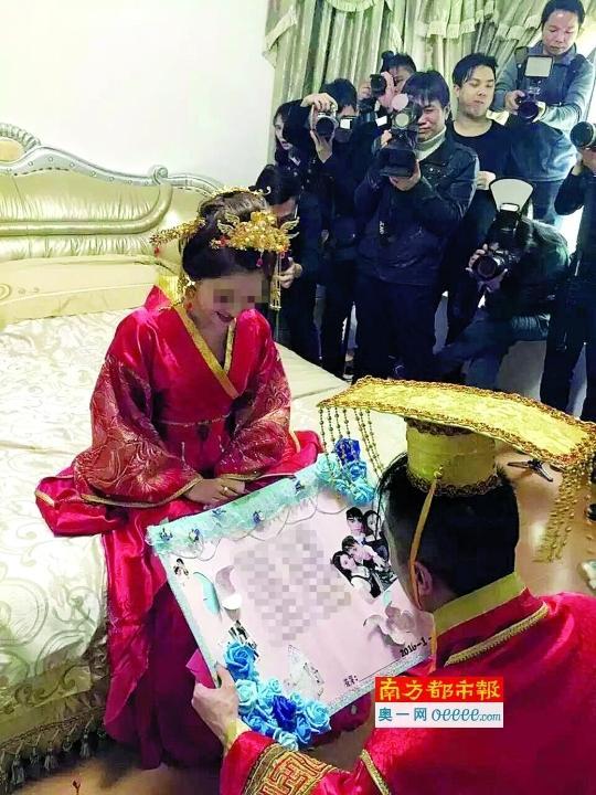 广东再现土豪婚礼 新娘全身挂满金首饰2016.1.12 - fpdlgswmx - fpdlgswmx的博客