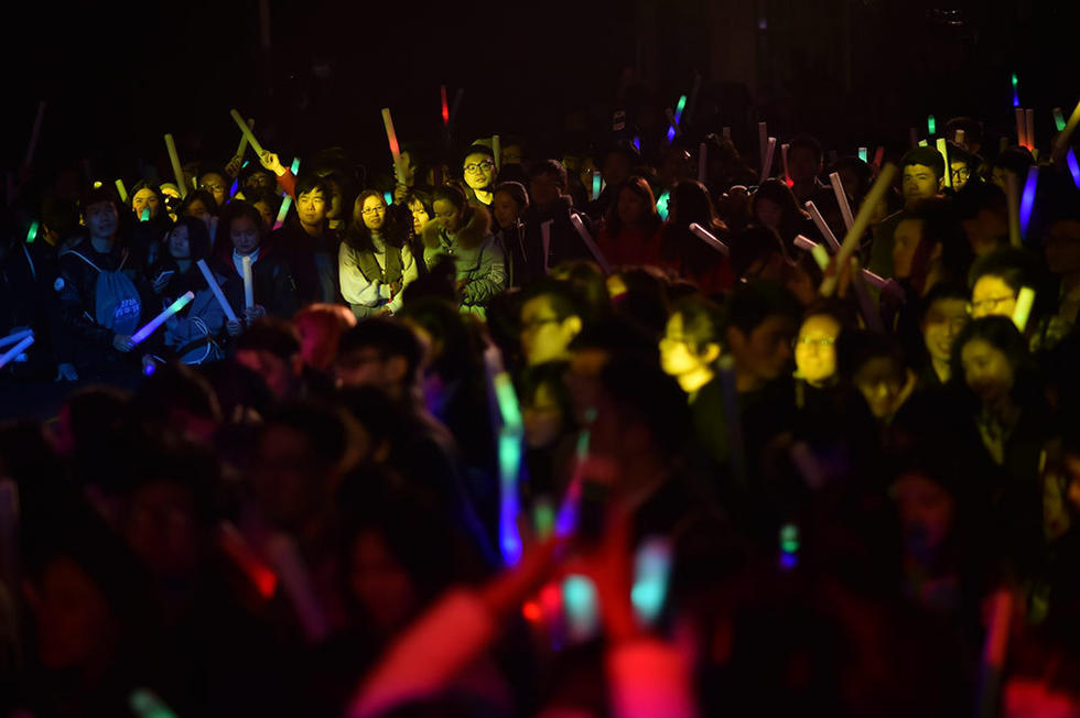 、跑酷、攀岩、音乐派对……1月16日,首届好玩青年节在杭州市经