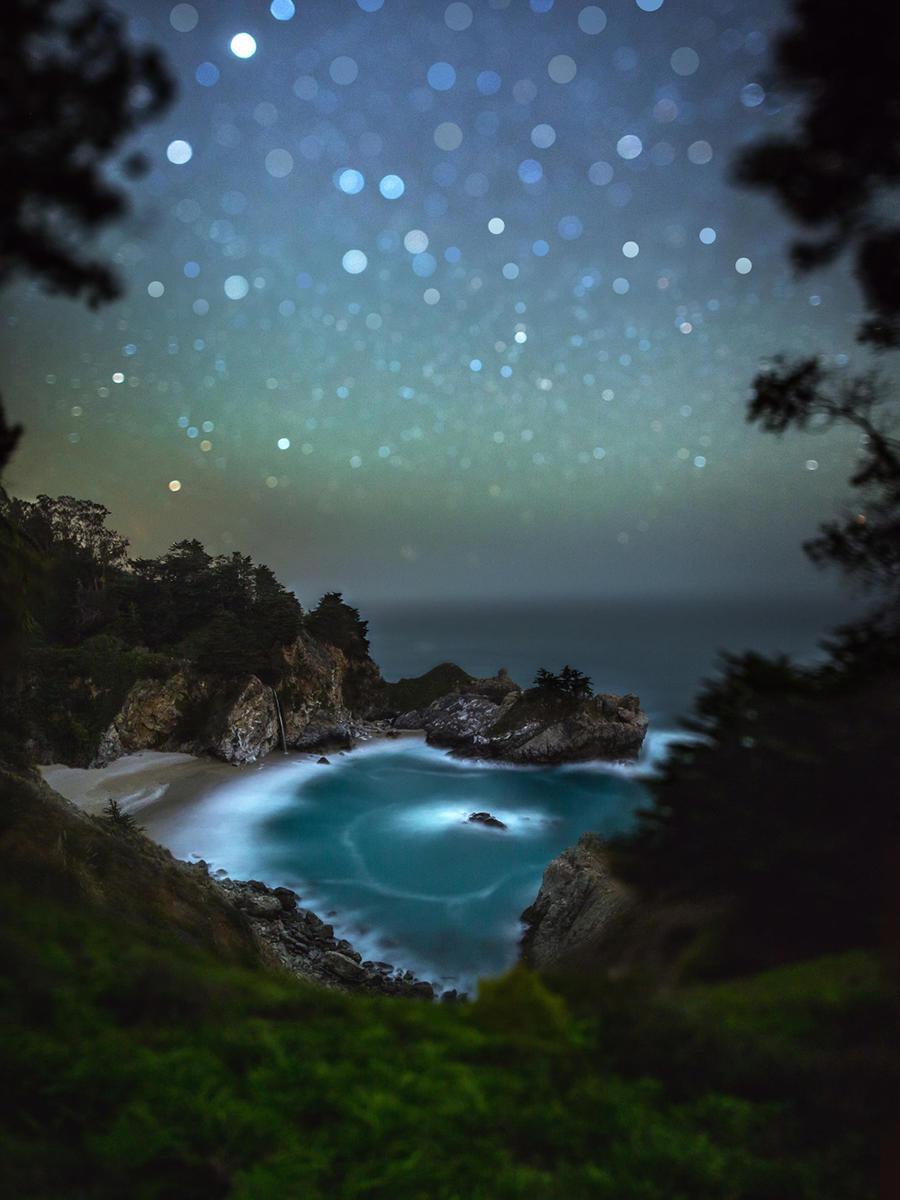 站在地球表面与银河对话