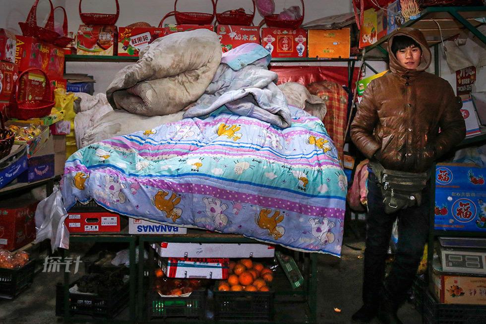 北京最冷一周:小贩坚守 路人全副武装 - 海阔山遥 - .