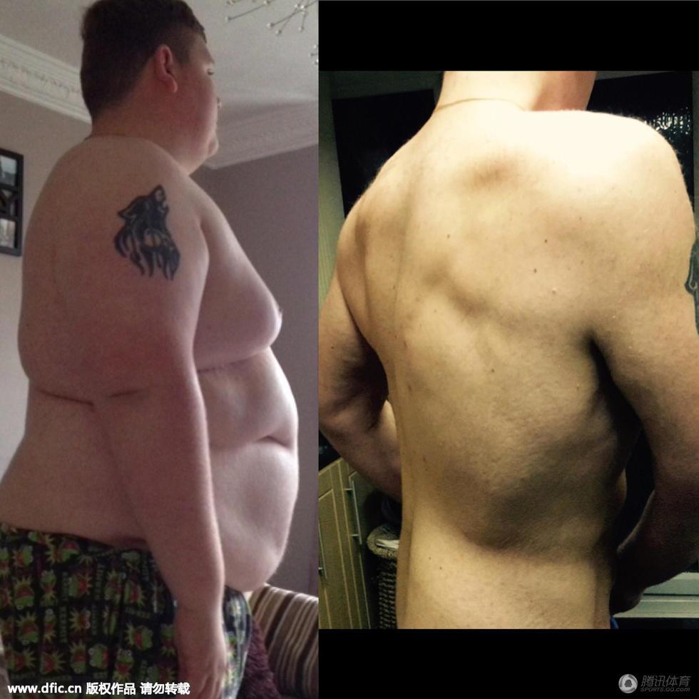 小胖墩儿逆袭成男神!减肥前后对比图惊人.-小胖墩儿逆袭成型男 健