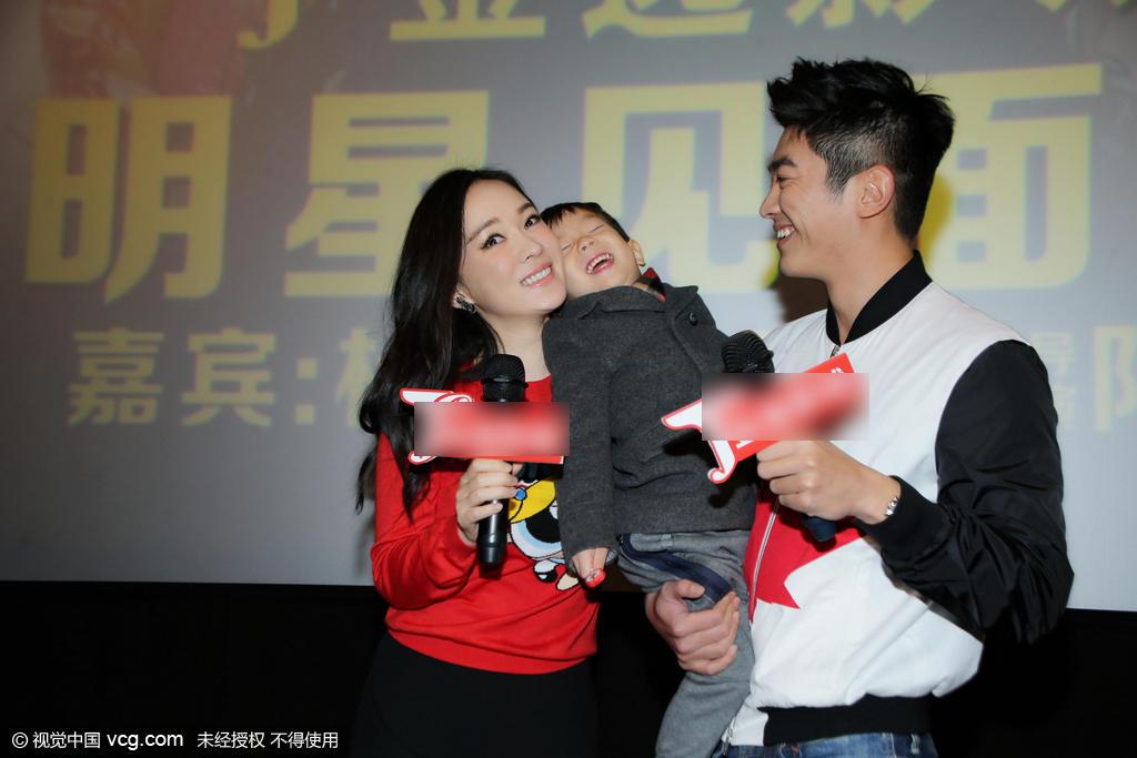 霍思燕一家现身泉州宣传新电影 嗯哼大王成功抢戏