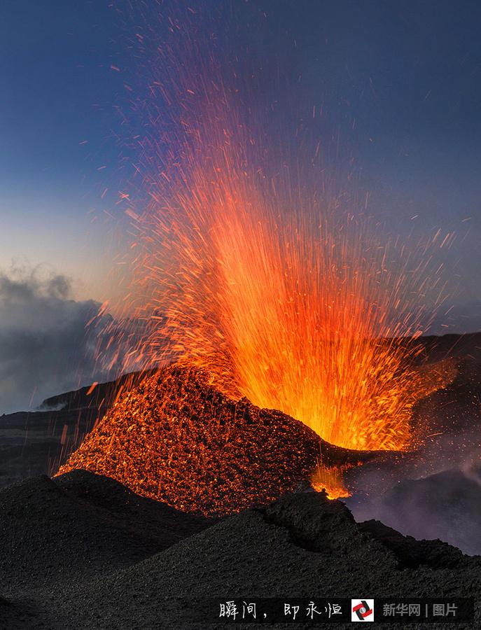 """""""地狱门口""""拍摄火山喷发 - 海阔山遥 - ."""