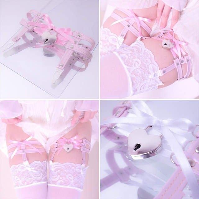 日本COS发明开锁下乳内衣