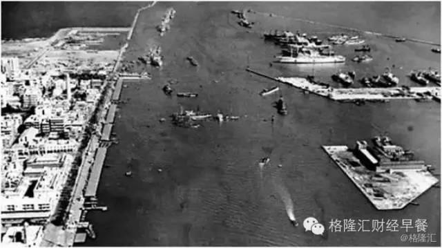 【1956年:苏伊士运河危机(第二次中东战争)】1956年,俯瞰埃及