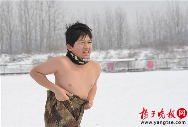 """14个娃南京雪地""""裸训"""" 最小仅3岁2016.2.2 - fpdlgswmx - fpdlgswmx的博客"""