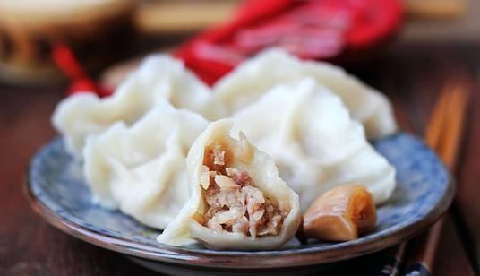 羊肉萝卜饺子:煮抹布味绕梁三日
