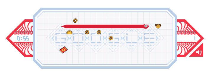 2013年是农历蛇年,谷歌制作了一个贪吃蛇的小游戏。