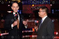 前方组图:苏群专访NBA主席 萧华先生侃侃而谈