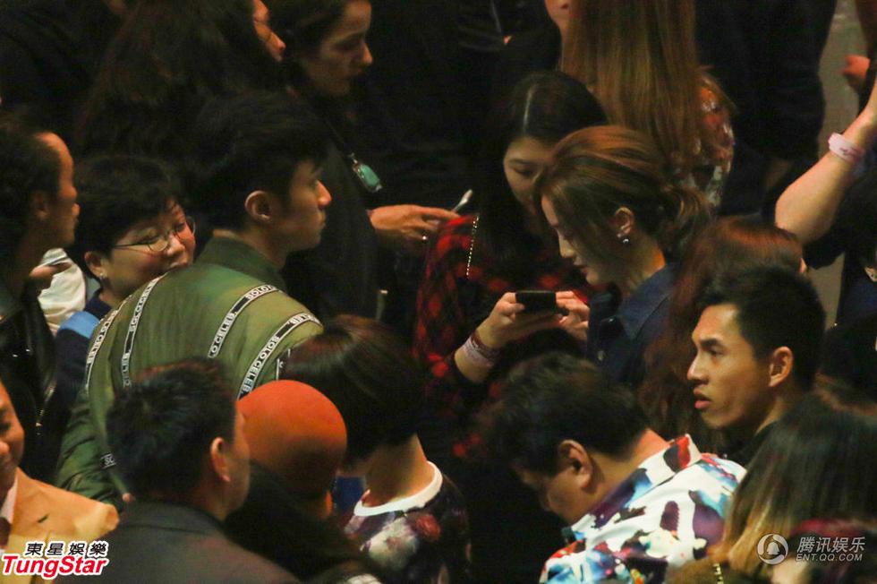 麦当娜演唱会澳门站 刘嘉玲郭富城等到场观看