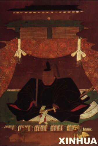 以日本为中心的封建主义国际秩序.这是德川幕府第一代将军德川家图片