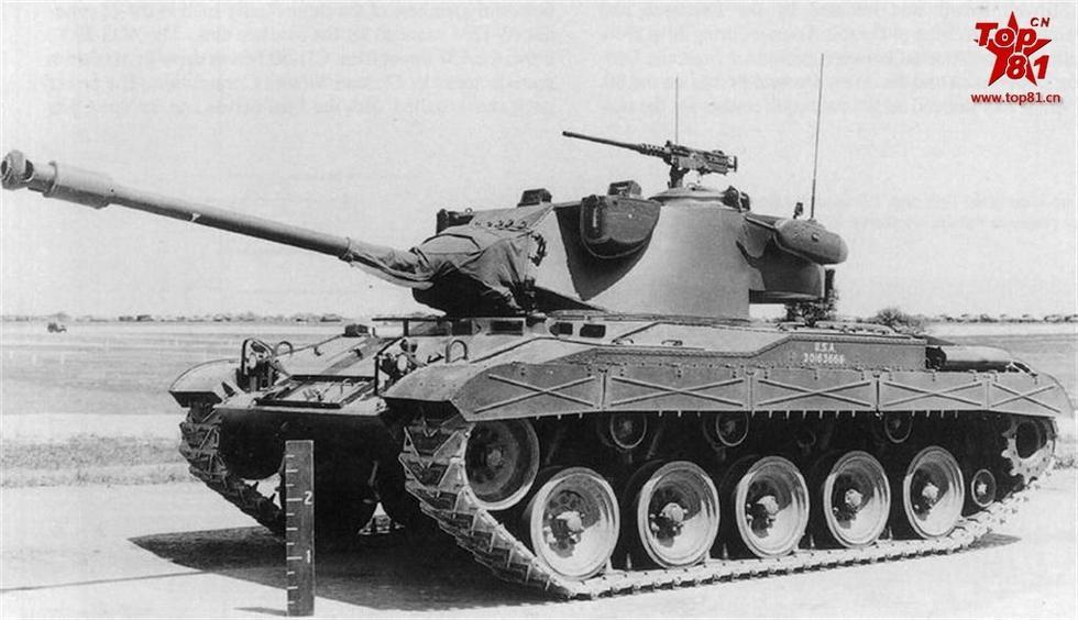 ...美国军方要求研发一个新的轻型坦克设计,以取代M24