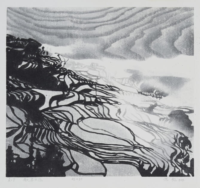 陕西黑白木刻暨名家作品邀请展西安美术馆开展