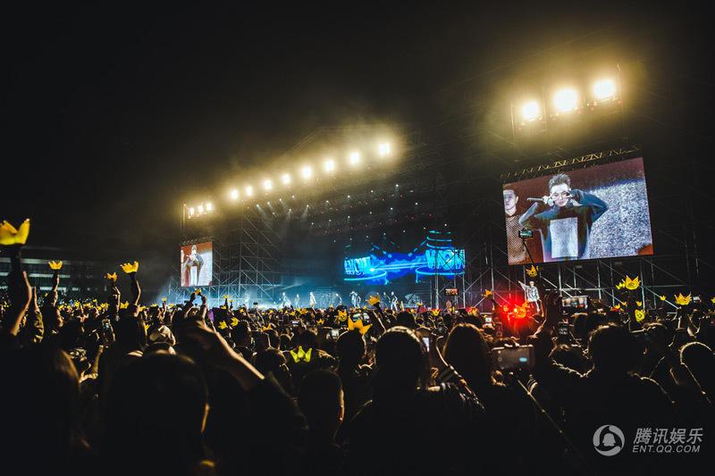 BIGBANG中国连开演唱会 场场火爆座无虚席