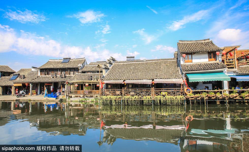 04平方公里,人口近8.6万.西塘——生活着的千年古镇.-江南水乡