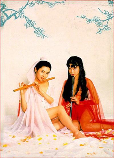 ,在片中,她与李丽珍、徐锦江已经是同等分量.尽管是色情片,舒