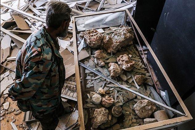 以作为政府军向伊拉克边境附近ISIS所掌控的地段发起进攻的前阵.