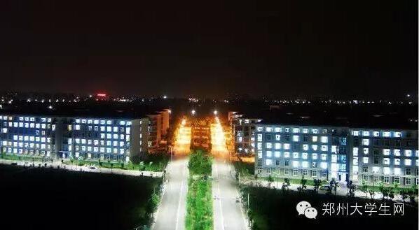 河南中医药大学-河南高校夜景颜值大比拼 来看哪个最美