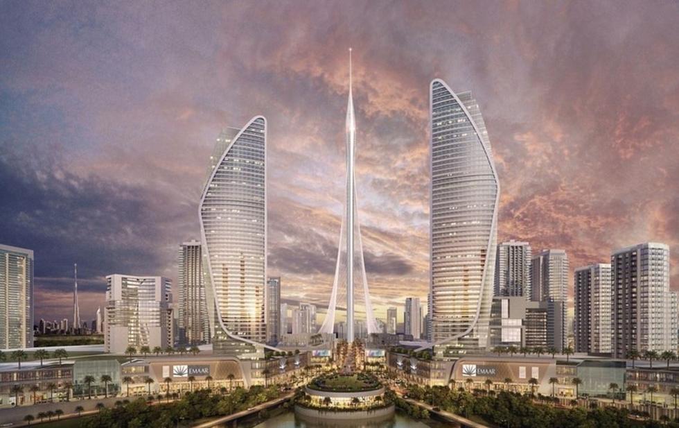 迪拜欲砸十亿美金建世界第一高楼 造空中花园(图)