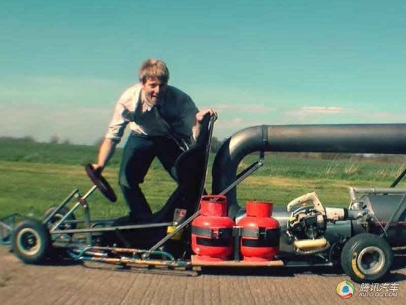 为他之前发明了世界上最快的电动车,世界上最长的摩托车和一个巨图片