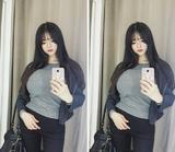 韩国巨胸妹走红 身材比例夸张上围傲人