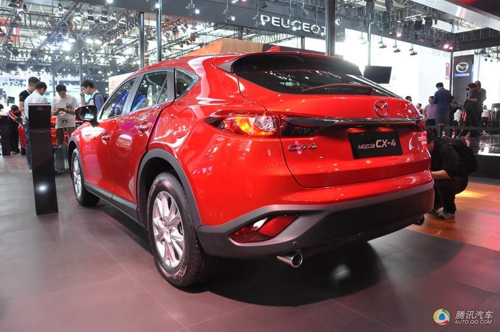 一汽马自达CX 4首发高清图片
