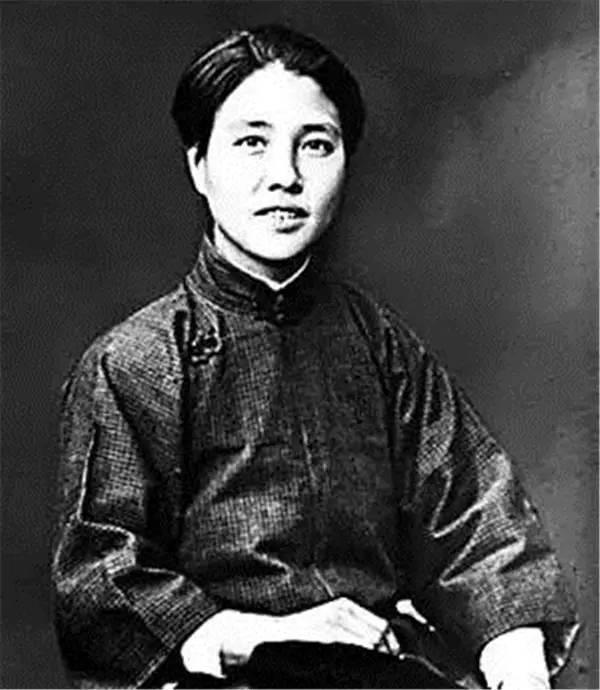 起名的女性.她是中国共产党创始人及早期领导人之一 ,第一个女中图片